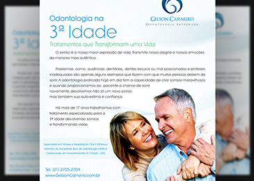 Dr. Gelson Carneiro - Anúncio de Jornal