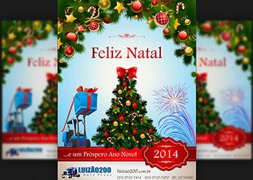 Luizão 200 - Mala Direta Natal e Ano Novo