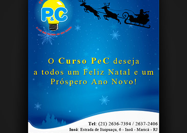Curso P&C - Natal e Ano Novo