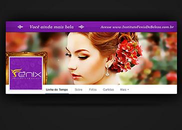 Fênix Instituto de Beleza [Facebook Capa e Perfil]