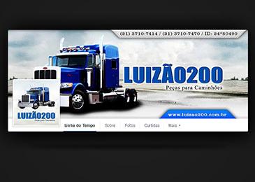 Luizão 200 [Facebook Capa e Perfil]